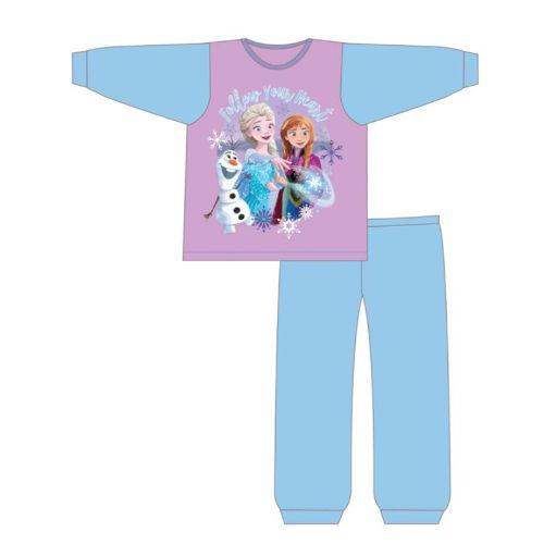 Girls Toddler Official Frozen Heart Pyjamas
