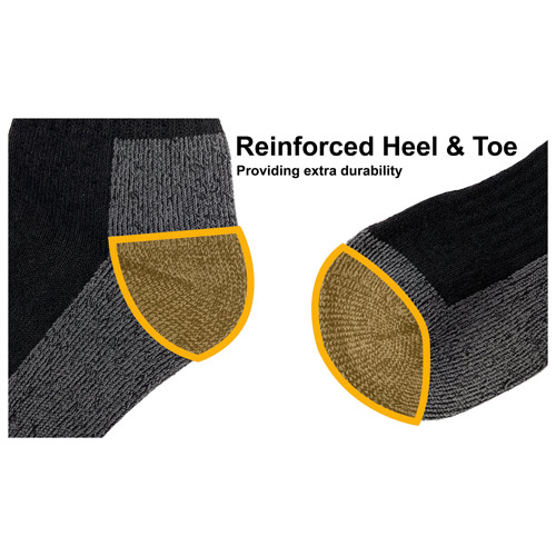 JCB 3 Pack Mens Heavy Duty Work Sock