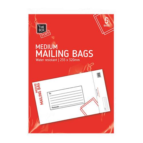 Medium Mailing Bag 5 Pack