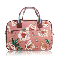 Floral Print Overnight Bag Pink