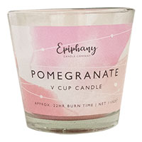Pomegranate V Cup Candle