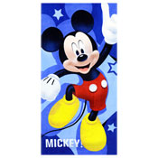 Official Mickey Mouse Blue Beach Towel