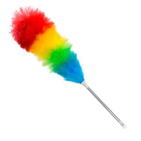 Static Duster With Metal Handle