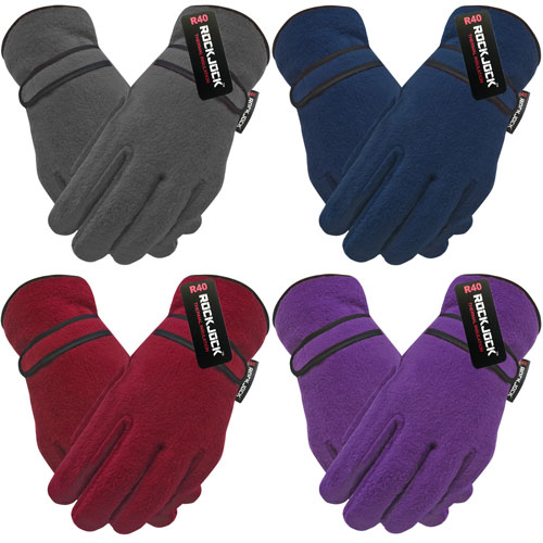 Ladies Fleece Thinsulate Gloves Handy