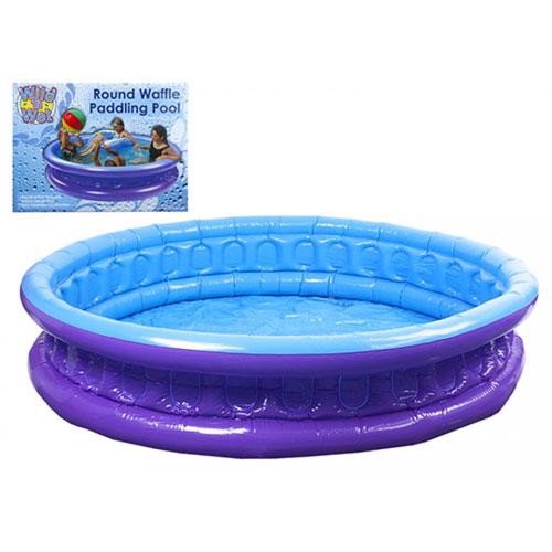 Inflatable Round Waffle Paddling Pool