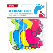 Fresh Feet Car Air Freshener