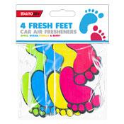 Fresh Feet Car Air Freshener