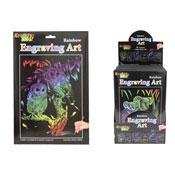 Kreative Kids Rainbow Engraving Art Set