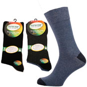 Flexi-Top Non Elastic Diabetic Socks Heel & Toe
