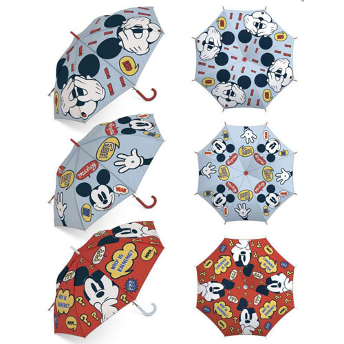 Official Childrens Mickey Mouse Umbrella