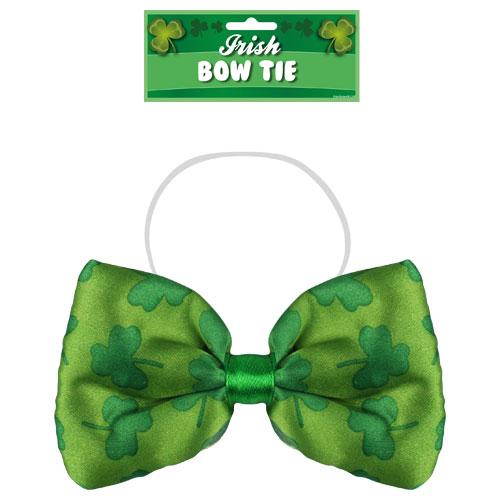 St Patrick's Day Irish Shamrock Design Bow Tie
