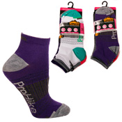 Ladies ProHike Trainer Socks Criss Cross