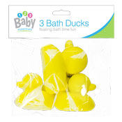 Bath Time Ducks 3 Pack
