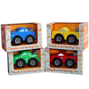 Push & Go Racing Car