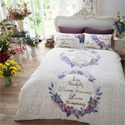 Live & Dream Natural Duvet Set Modern Style