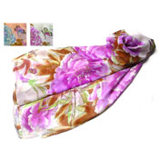 Flower & Butterfly Print Scarves