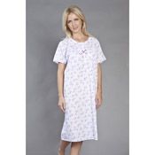 Short Sleeve Nightie Polycotton