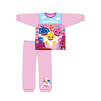 Official Girls Toddler Baby Shark Pyjamas