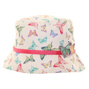 Girls Novelty Butterfly Bush Hats