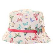 Girls Novelty Butterfly Bush Hats