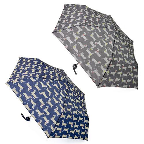 Supermini Sausage Dog Print Umbrella