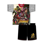 Older Boys Avengers Movie Shortie Pyjamas