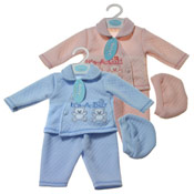 Baby 'It's A Girl/Boy' Hat, Jacket and Trousers Set
