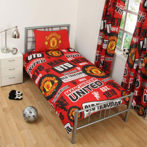 Official Manchester United Duvet Set