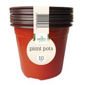 Garden Plant Pots 10 Pack