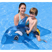 Inflatable Whale with Handles