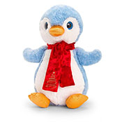 20cm Penguin With Scarf Soft Toy