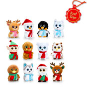 Christmas Mini Motsu Soft Toys