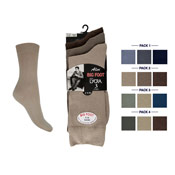 Mens Big Foot Lycra Socks