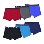 Boys Star Strip Design Trunks 3 Pack Assorted