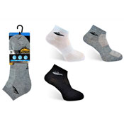 Mens ProHike Trainer Socks Plain With Logo Carton Price