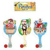 Pirate Paddle Bat And Ball