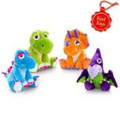 Hugasaurus Assorted Soft Cuddly Toy