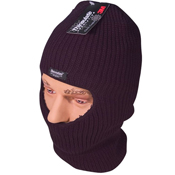 Mens Thinsulate Lined Open Face Balaclava