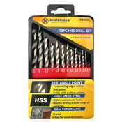 High Speed Steel Drill Set 13 Piece