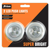 LED Push Lights 2 Pack
