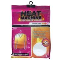 Ladies Long Sleeve Thermal Vest Heat Machine