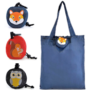 Foldable Shopping Pouch Bag Woodlands