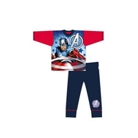 Older Boys Captain America Avengers Pyjamas
