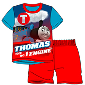 Boys Thomas and Friends Shortie Pyjamas