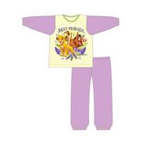 Girls Official Lion King Best Friends Pyjamas