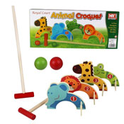Animal Croquet Outdoor Game