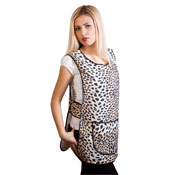 Ladies Animal Print Tabards