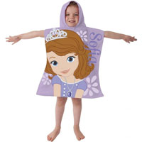 Official Disney Princess Sofia Towel Poncho