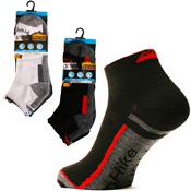 Mens Broad Stripe ProHike Trainer Socks