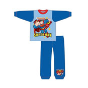 Toddler Boys Superman Snuggle Fit Pyjamas